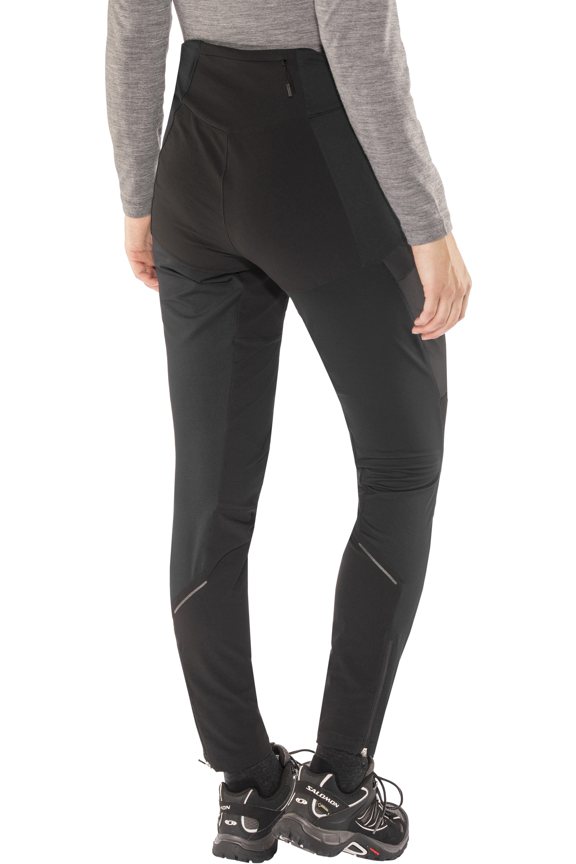 2c040aae Bergans W's Fløyen Pants Black/Solid Charcoal | Gode tilbud hos ...